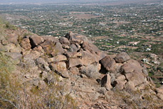 Camelback Mountain Cholla Trail Hike: Image 17