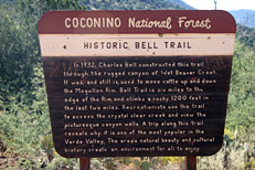 Bell Trail Hike to Bell Crossing on Wet Beaver Creek: Image 1